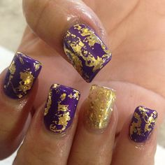 Purple and gold!!
