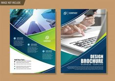 Flyer and brochure template for design annual report Premium Vector Event Poster Template, Brochure Template, Business Poster, Business Brochure, Brochure Cover Design, Design Vector, Photography Flyer, Annual Report Design, Creative Brochure