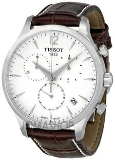 Tissot T Classic Tradition Chronograph Silver Dial Mens Watch T0636171603700