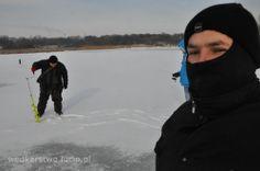Wędkarstwo podlodowe w Polsce. Ice fishing in Poland.