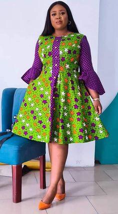 African Fashion Ankara, African Inspired Fashion, Latest African Fashion Dresses, African Print Fashion, Short African Dresses, African Print Dresses, African Print Dress Designs, African Attire, Classy Dress
