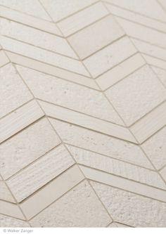Walker Zanger White Siberian Sunset Marble Tile