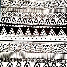aztec line pattern Mexican Designs, Aztec Designs, Pattern Designs, American Indian Art, American Indians, Line Patterns, Aztec Patterns, Wearable Art, Zentangle