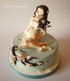 Would be a cute princess cake