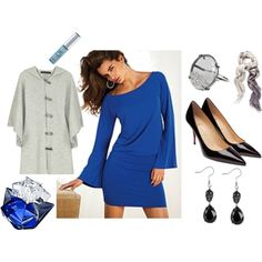 New Years Eve outfit, created by kristypage on Polyvore