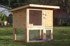 Chicken Coop Rabbit Hutch