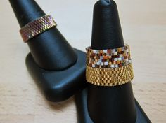 How to Make a Peyote Ring, from Artbeads.com