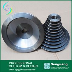fine polished tower pulley
