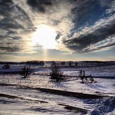 Wintry sunset | Instagram