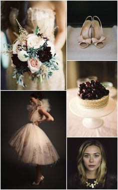 2015 Wedding Trends | pastels | for a super chic look, pair pastels with deep tones!