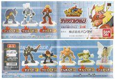 BANDAI Digimon Frontier 2002 Mini Figure Gashapon DUSKMON ARBORMON FAIRIMON
