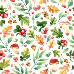 Materiał do szycia Watercolor forest seamless pattern. Zobacz materiały do szycia drukowane na zamówienie autora Евгения Загреева. Zamów bawełniany materiał do szycia z wzorem w las, tło, wzór, liść, drzewa, lato, bezszwowe, roślina, ilustracja, natura, gałąź, sztuka, akwarela, tapeta, zielony, botanika, ozdoba, projektować, naturalny, botaniczny, jesień, sezon, włókienniczych, upadek, zielnik, gałązka, graficzny, rysunek, jagoda, vintage, zioło, tkanina, ziołowy, flora, drewno, grzyb…
