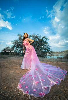 "Photo from Zerabeauty ""Portfolio"" album Bridal Lehenga, Saree Wedding, Pre Wedding Poses, Quinceanera Photography, Bridal Dresses, Ball Gowns, Cocktail, Beige, Formal Dresses"