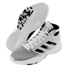 adidas Pro Bounce Madness 2019 Men's Basketball Shoes NBA Casual White BB9235 #adidas #BasketballShoes