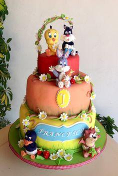 Cake Baby Looney toones
