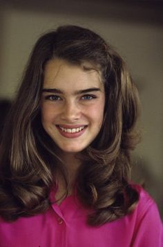 Brooke Shields -I wanted to be her when I was young...