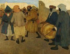 Henri Evenepoel - Negro party in Blidah - Henri Evenepoel