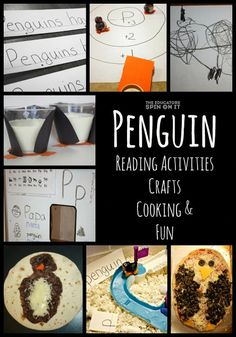 Penguin Cooking, Crafts, Reading Activities and Fun from The Educators' Spin On It