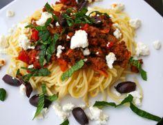 Zymarika me aroma Elladas / Pasta med gresk aroma