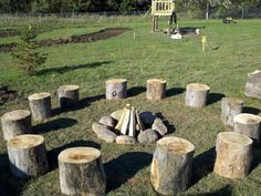 Play fire circle for children