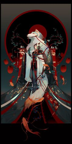 e-shuushuu kawaii and moe anime image board Manga Art, Anime Art, Japon Illustration, Art Japonais, Samurai Art, Japan Art, Fantasy Artwork, Animes Wallpapers, Chinese Art