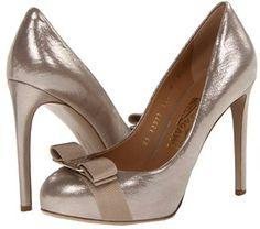 Salvatore Ferragamo - Rilly (Silver) - Footwear on shopstyle.com