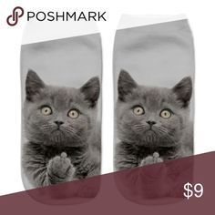 Sassy Bad Kitty Cat Socks NWT Sassy Bad Kitty Cat Socks NWT Going over someones house, need to remove your shoes..well now  These flipping the claw kitty socks is just what you need. Buy These Right Meow! Accessories Hosiery & Socks