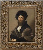 140. Portrait de Baldassare Castiglione, écrivain et diplomate (1478-1529) | Musée du Louvre | Paris