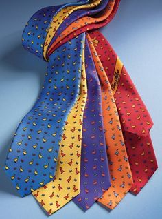 Silk Print Ties with Goose Motif Men Accesories, Accessories, Paisley Dress, Tie And Pocket Square, Neckties, Summer 2015, Fathers Day Gifts, Gift Guide, Gentleman