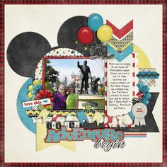 Perfect Partners - MouseScrappers - Disney Scrapbooking Gallery