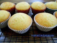 Cómo hacer cupcakes de naranja. NataliaSalazar - YouTube
