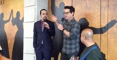 Lin-Manuel Miranda celebrated Star Wars Day in truly epic fashion with The Force Awakens director J.J. Abrams.