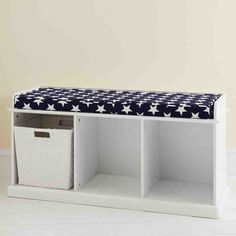 White Storage Bench With Cushion.Lonny Storage Bench In White. 50 Entryway Bench Design Ideas To Try In Your Home . 20 DIY Storage Benches You Can Make Bob Vila. Home Design Ideas Padded Storage Bench, Indoor Storage Bench, White Storage Bench, Storage Bench With Cushion, Storage Bench Seating, Minimalist Home Interior, Home Interior Design, Bench Furniture, Bedroom Furniture