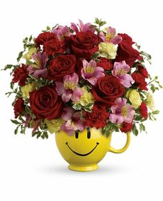 So Happy You're Mine #Bouquet - Teleflora.com