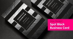 Designer business cards to inspire you on how to create your own business card 14
