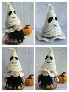Crochet Fall, Cute Crochet, Crochet Crafts, Crochet Projects, Crochet Summer, Halloween Crochet Patterns, Crochet Patterns Amigurumi, Knitting Patterns, Chenille