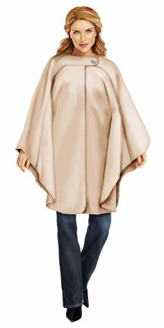 ccfd53d151a Poncho  Your Size Sewing Pattern 5732