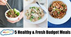 Fresh, delicious, and easy budget dinners that are perfect for a family on a budget! Skimp on the extra prices, not taste. Storing Lettuce, Freezing Bread, How To Store Bread, Honey And Soy Sauce, Dinner On A Budget, Budget Meals, Easy Budget, Healthy Tips, Meal Planning
