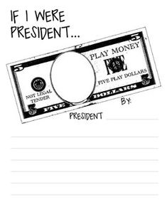 President's Day Writing Activity and Bulletin Board Idea!