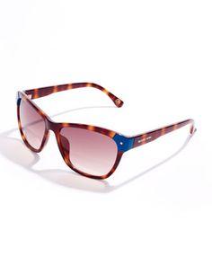 694f534cedc Horner I got these and added prescription MICHAEL Michael Kors Savannah Cat-Eye  Sunglasses.