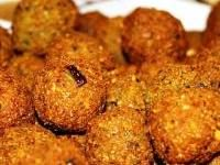 "Falafel (Middle Eastern fried chickpea patties)   Falafel is the original veggie burger and is a common dish throughout the Middle East. It is found in Lebanon, Syria, Israel, Egypt, and is especially popular with Palestinians. In Egypt it is known as tamiyah or taamiyah. Israelis sometimes call it the ""national food of Israel."""