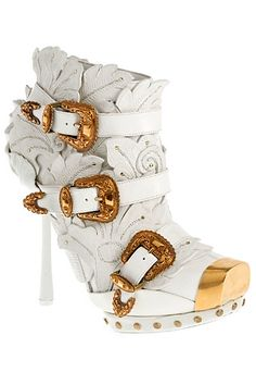 Alexander McQueen -  a little too much for a heel in my opinion