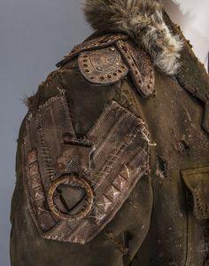 Upcycled Green Military Jacket