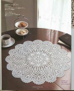 61 best Ideas for crochet doilies free pattern tablecloths beautiful Crochet Doily Diagram, Crochet Doily Patterns, Crochet Art, Crochet Home, Thread Crochet, Knit Or Crochet, Filet Crochet, Crochet Motif, Crochet Crafts