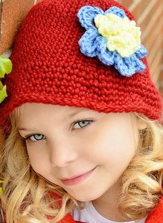 Handmade crocheted Girls  cotton bucket style by OneStopCrochet, $20.00