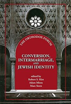 It represents the first collection of essays and articles by leading scholars and rabbis on the topics of intermarriage, conversion, and Jewish identity.