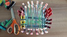 DIY : fabriquer son Tawashi (éponge zéro déchet) - Nous et les minibouts Loom Weaving, Upcycle, Bubbles, Crochet, Crafts, Art, Green, Upcycled Crafts, Diy Crafts