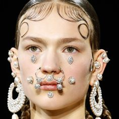Now trending: multiple piercings (details today on chicityfashion.com)