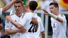 Os dois atletas já atuaram juntos com a camisa da seleção alemã. (Foto: Bundesliga.com)