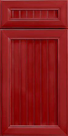 Merillat Masterpiece Cabinetry-Marsett Maple Cardinal Painted from waybuild